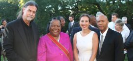 South African Minister awarded Germany's Grand Cross of Merit
