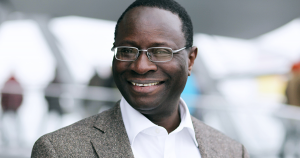 Federal MP Karamba Diaby. The election of the Senegalese-born holder of a doctorate degree in chemistry and that of Charles Huber (CDU) as the Bundestag's first members of African descent in 2013 marked a watershed in the history of black people in Germany │© UTE-LANGKAFEL-MAIFOTO