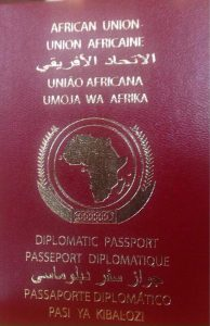 The AU passport. Every African is expected to have one by 2018 and it's expected to ease movement on the continent │© African Union