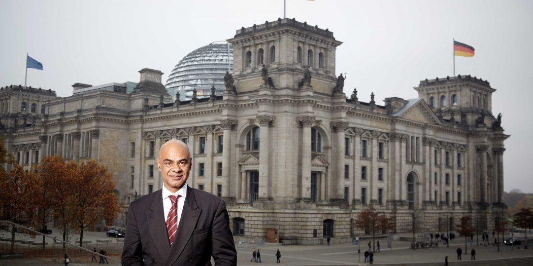 Charles Mohamed Huber, MP (Bundestag) │© Charles Huber