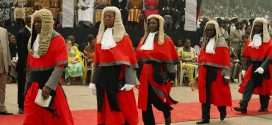 Ghana's judges at an official function. The government now has the herculean task of cleaning up the country's judiciary to ensure that it can dispense justice without favours │© Femi Awoniyi/TAC