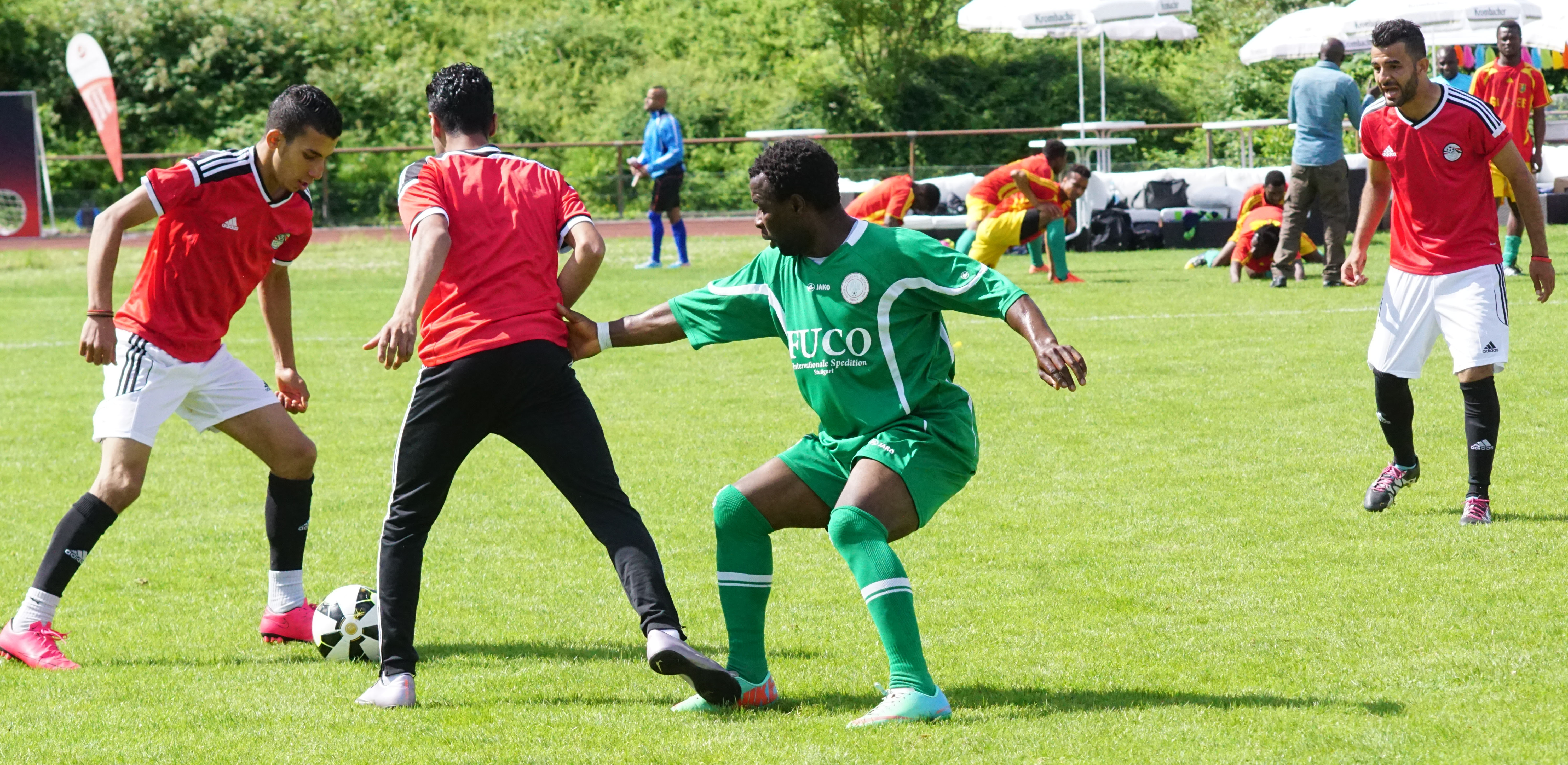 Team Morocco and Team Nigeria in action │ © Larry Bello/TAC