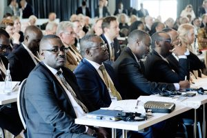 A cross section of participants at the event│© Afrika-Verein
