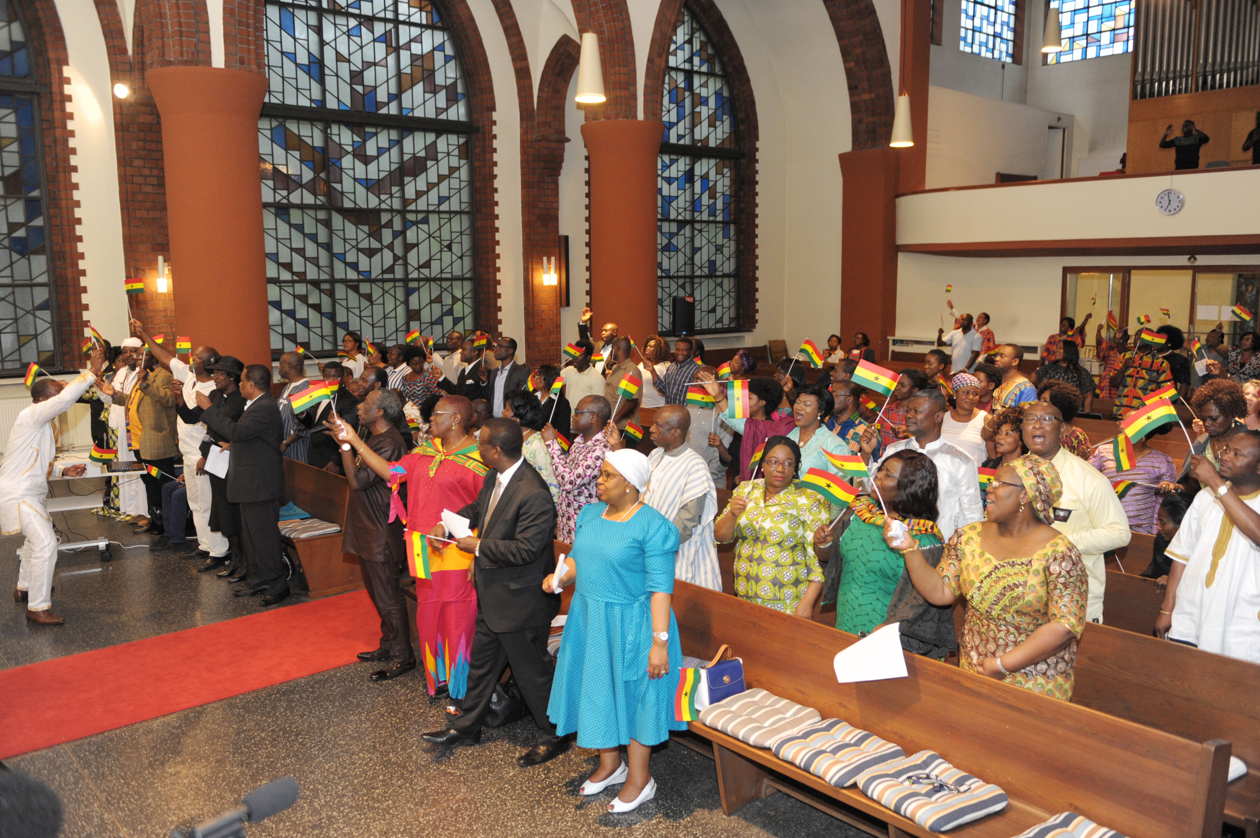 Ghanaians in Germany prayed for a peaceful election, unity in the country before and after the elections
