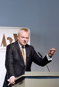 Dr Stefan Liebing, chairman of Afrika-Verein, called for the removal of hurdles preventing German companies from doing business in Africa│© Afrika-Verein