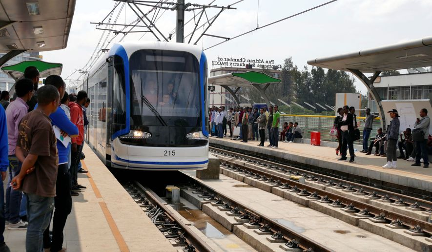 A station along the 750-km railway which allows Ethiopia to boost its exports of key commodities such as coffee and sesame / © JNI