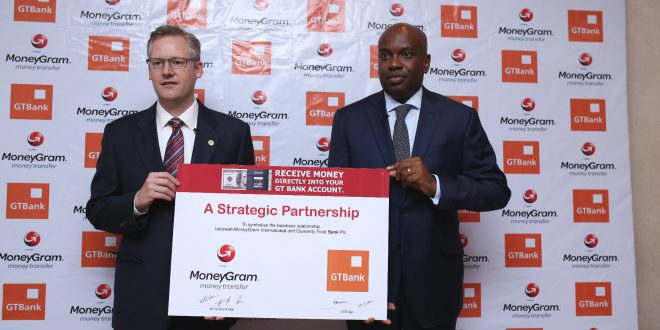 MoneyGram offers transfers into personal bank accounts in Nigeria — THE  AFRICAN COURIER. Reporting Africa and its Diaspora!