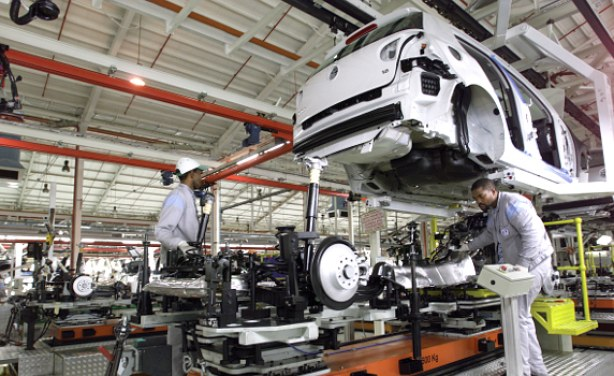 The Volkswagen South Africa plant in Uitenhage is the largest vehicle factory in Africa. Germans are big investors in South Africa. Both sides agreed to intensify efforts to strengthen bilateral economic relations / © Volkswagen South Africa