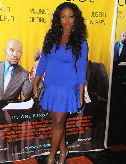 Yvonne Okoro, the Ghana-born superstar, is one of the nominees for Queen of Nollywood 2016 / Photo: Yvonne Okoro