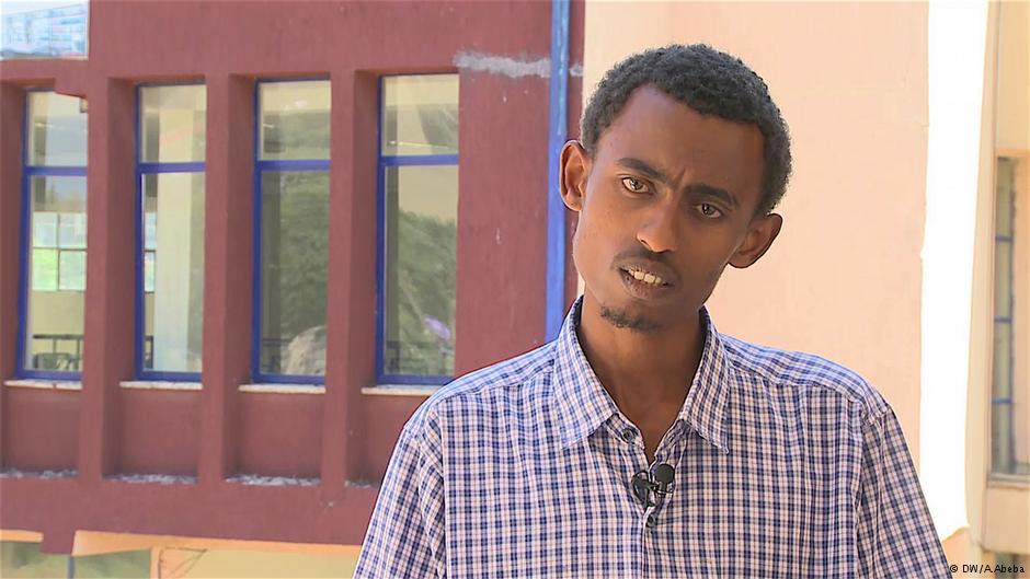 Alazaar Beshaf returned to Ethiopia from Dubai /  © DW