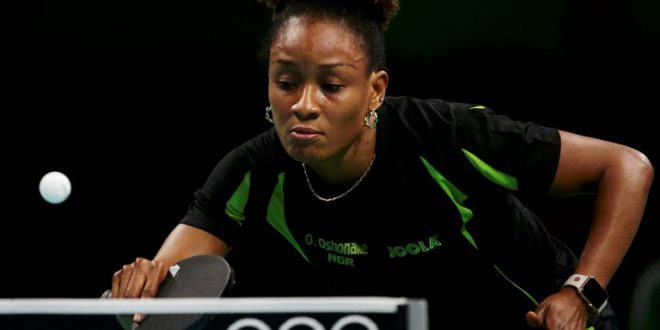 Hamburg based funke oshonaike wins african table tennis - African table tennis federation ...