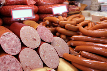 "Sausages (""wurst"") are a big part of German cuisine. From ""Blutwurst"" to ""Weisswurst"", from ""Frankfurters"" to Salami - there are over 1,500 different kinds of sausages, which can be fresh or smoked and tend to be all pork / © GFG"