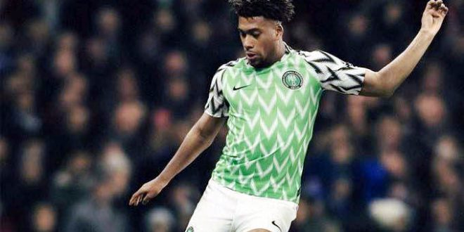 World Cup 2018: Nigerian Super Eagles' Jersey Unveiled in London ...