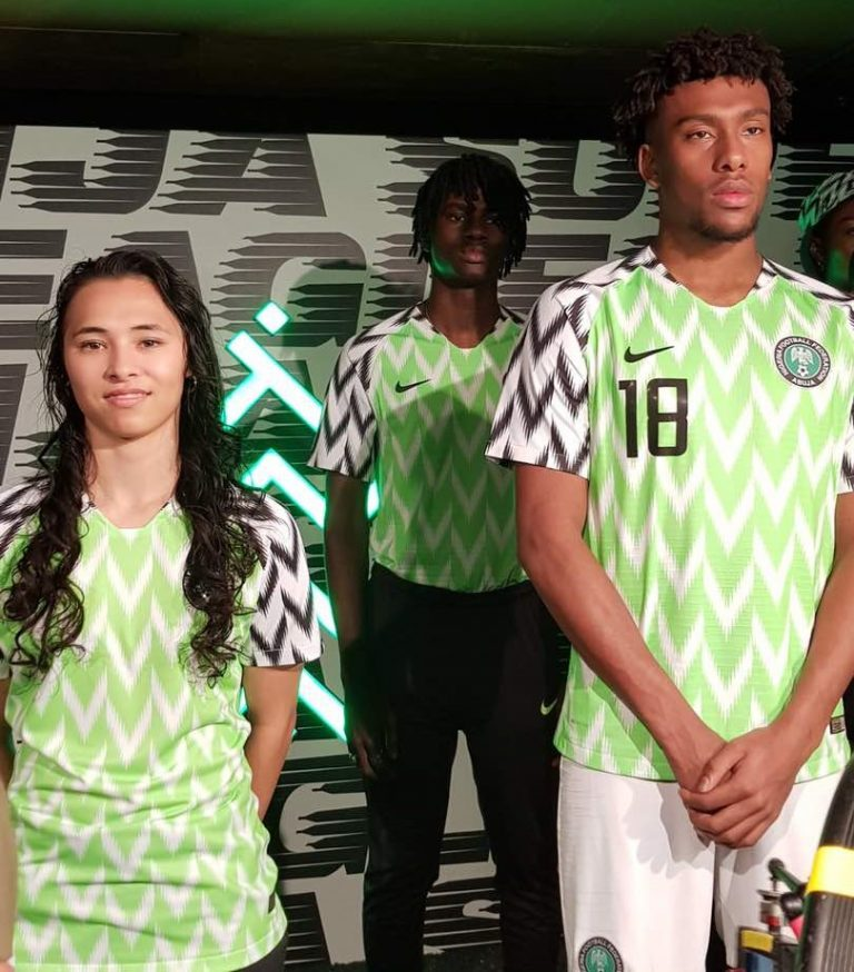 watch 0c928 6cf29 World Cup 2018: Nigerian Super Eagles' Jersey Unveiled in ...