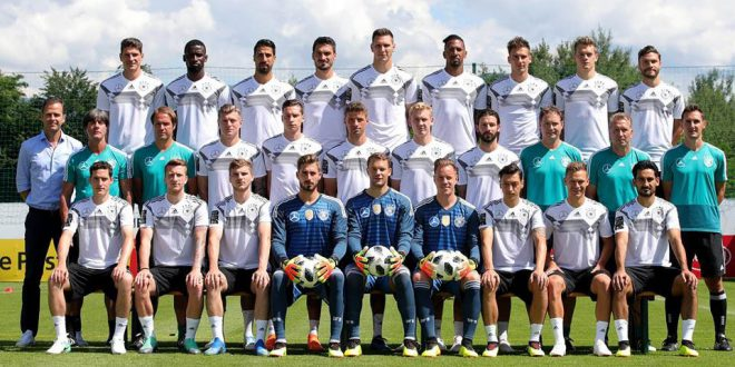 check out e0fef 62fe9 Leroy Sané misses out, Neuer makes Germany World Cup squad ...