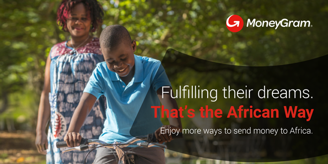Sending money online to Africa with MoneyGram has never been