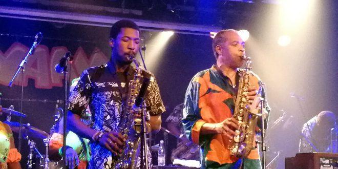 Femi Kuti, son Omorinmade dazzle Berlin in memorable concert