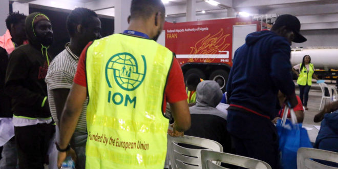 IOM, EU facilitate return of 14,036 Nigerians from Libya