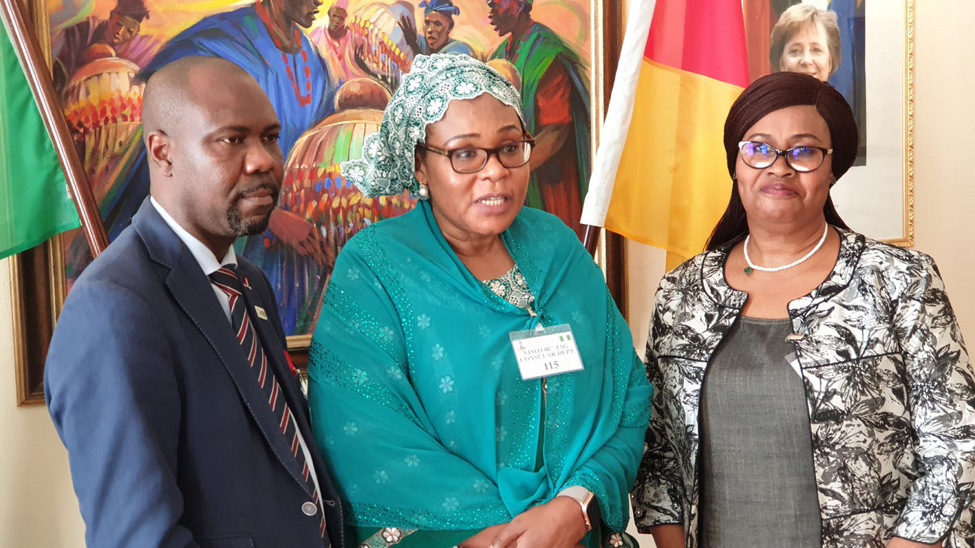 Nigeria begins registration of its citizens in Germany — THE