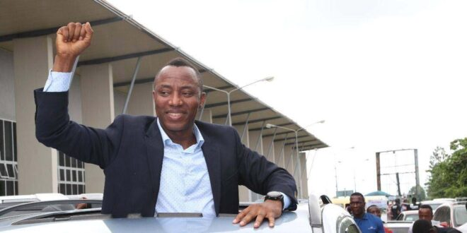 Image result for BREAKING: Court Grants Sowore N100m Bail